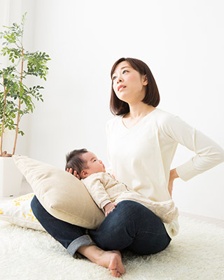産後の骨盤矯正:このようなお悩みありませんか?